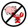 pig lobster clipart